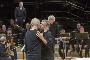 St Matthew Passion: Berliner Philharmoniker; Sir Simon Rattle, conductor; Peter Sellars, director.